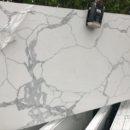 Calacatta quartz Slab