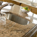 Giallo veneziano granite kitchen Island