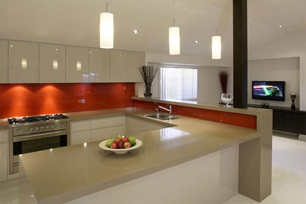 Ice White Kitchen Worktop