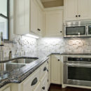 Sapphire Brown Granite Kitchen