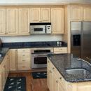 Sapphire Brown Kitchen Island