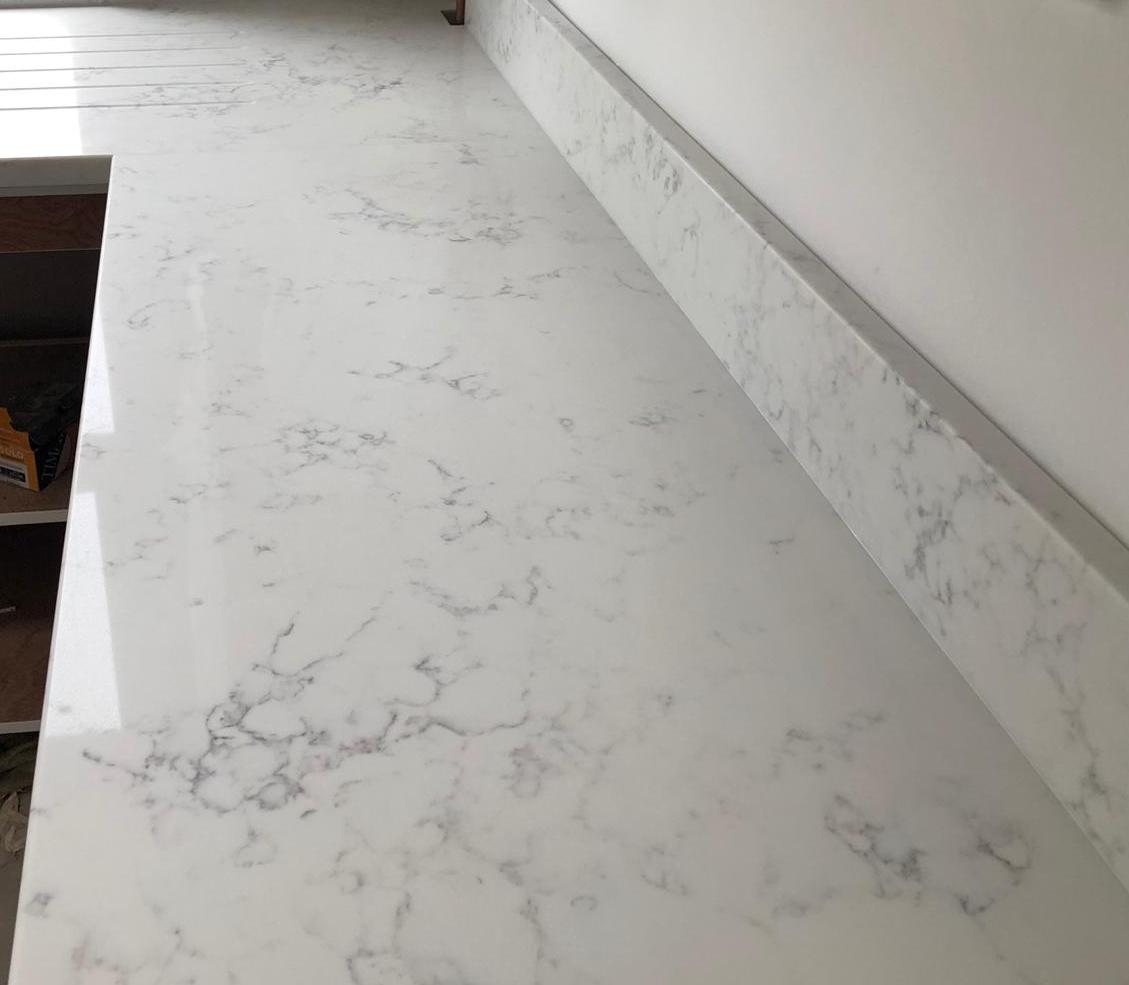 Carrara Quartz Kitchen Worktops From 163 400 At Stone Culture
