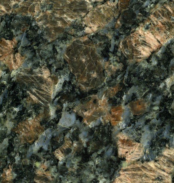 Sapphire Brown Granite closeup