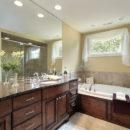 Tan Brown Granite Bathroom