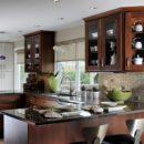 Tan Brown Kitchen Worktops
