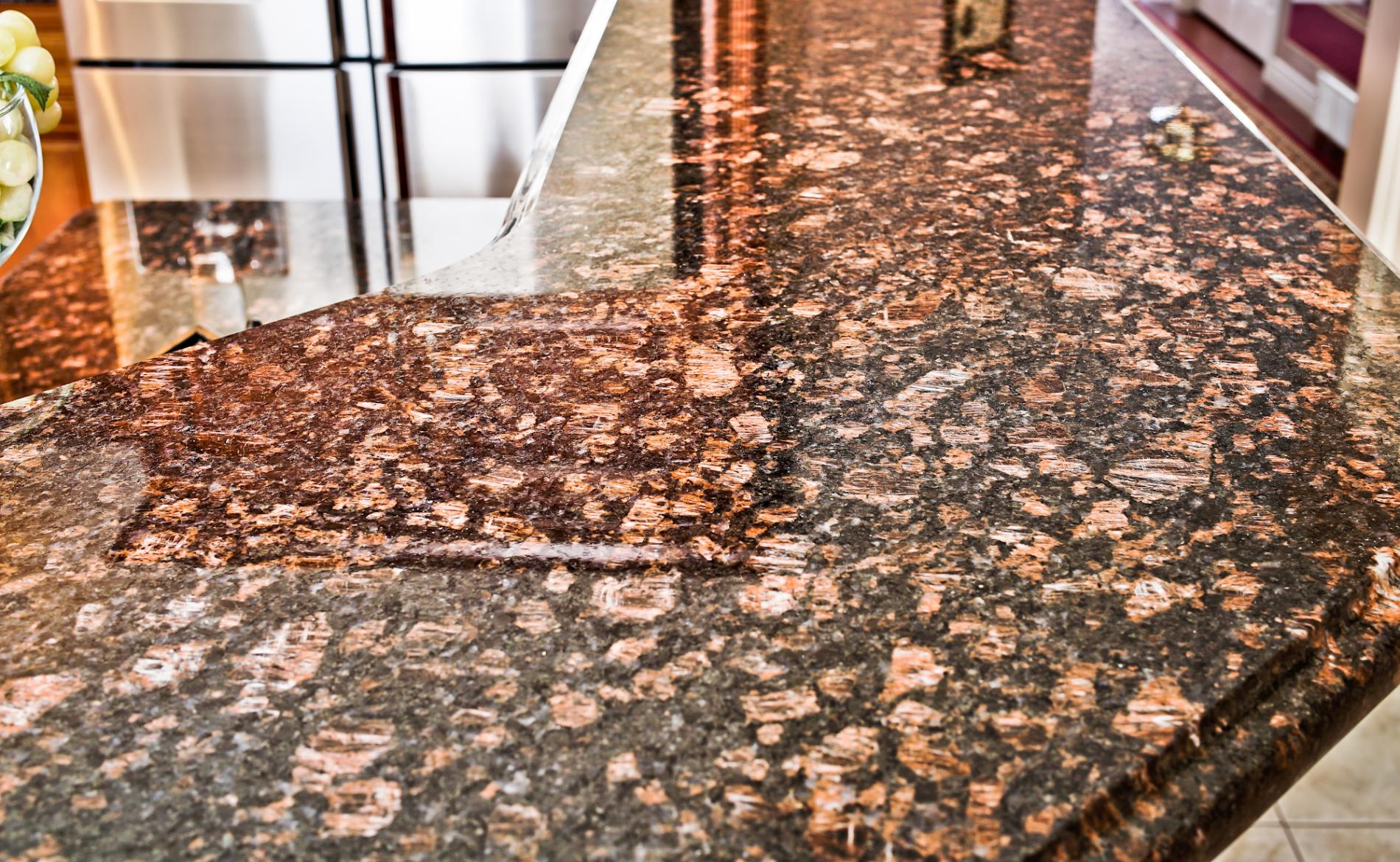 Tan Brown Granite Stone Culture