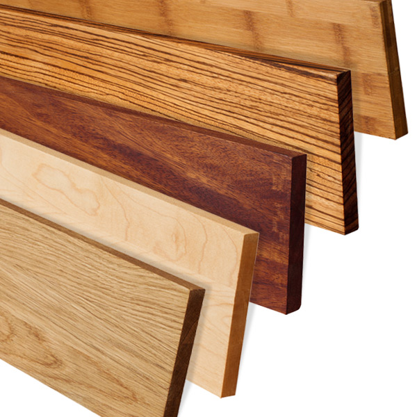 hardwood worktop options