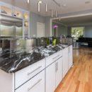 Silver Waves Granite kitchen worktop example